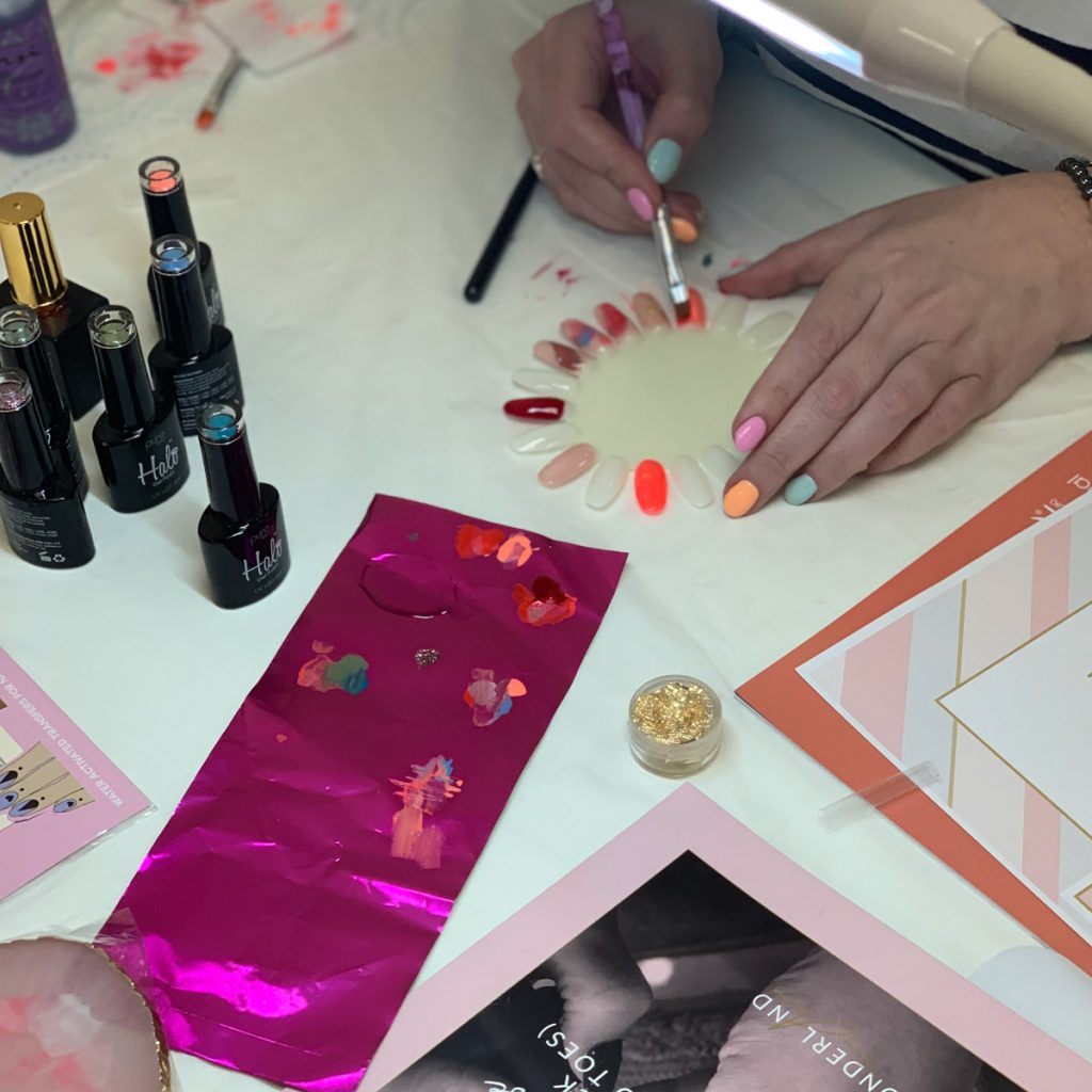 wonderland nail academy gel nail art course french nails manchester 2020 eccles NSI